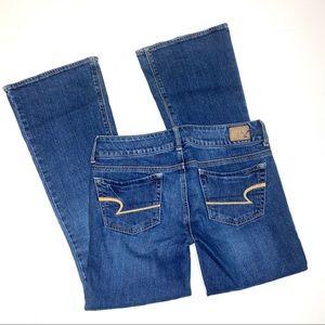 American Eagle AE jeans artist sz 4 short